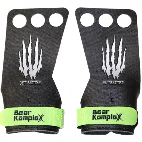 "BEAR KOMPLEX - 3-hole ""Black Diamond"" Hand Grips"