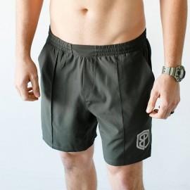"BORN PRIMITIVE Men Short  ""Training Shorts"" Tactical Green dr wod"
