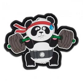 """DR WOD - """"Back Squat Panda"""" Rubber Velcro Patch"""