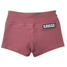 "SAVAGE BARBELL - Women Booty Short """"Rusty"""