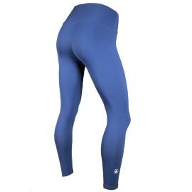 "SAVAGE BARBELL - Leggings Femme Taille haute ""NAVY BLUE"""