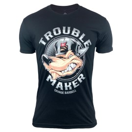 SAVAGE BARBELL - T-shirt Homme TROUBLE MAKER
