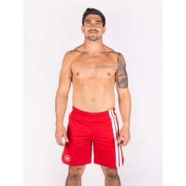 """SAVAGE BARBELL - Short Homme """"VIPER RED"""""""