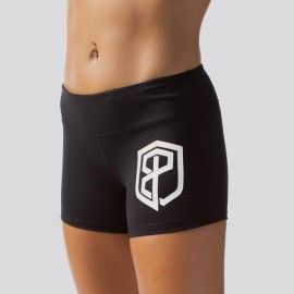 "BORN PRIMITIVE - Short Femme ""RENEWED VIGOR"" Black & White Logo"
