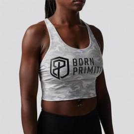 "BORN PRIMITIVE - Brassière Femme ""CROSSFIRE"" Brand Strength Avalanche"