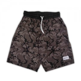 """THE BARBELL CARTEL - Short Homme """"FREESTYLE"""" Midnight Camo"""