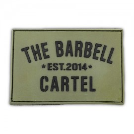 THE BARBELL CARTEL - Patch Velcro Military Green