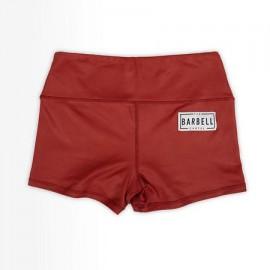 "THE BARBELL CARTEL - Short Femme ""COMP 2.0"" Cranberry"