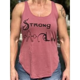 "321 APPAREL - Débardeur Femme ""Strong Life"""