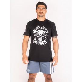 "SAVAGE BARBELL - T-Shirt Homme ""Punk Rock"" Black"