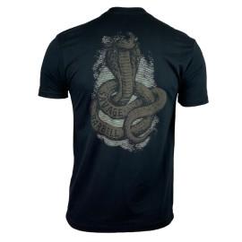 "SAVAGE BARBELL - T-Shirt Homme ""Cobra"" Black"