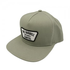 """THE BARBELL CARTEL - Casquette """"SNAPBACK"""" Cement"""