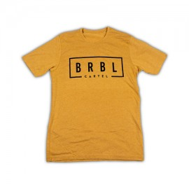 """THE BARBELL CARTEL - T-shirt Homme """"BRBL"""" Gold"""