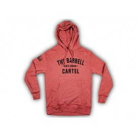 "THE BARBELL CARTEL - Sweatshirt ""BOMBER GIRL HOODIE"""