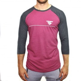 "FRAN CINDY - T-shirt de baseball ""RANGLAN"""