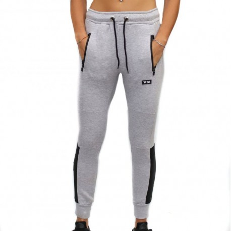 """FRAN CINDY - Jogger Unisex """"GREY STRUCTURE"""""""